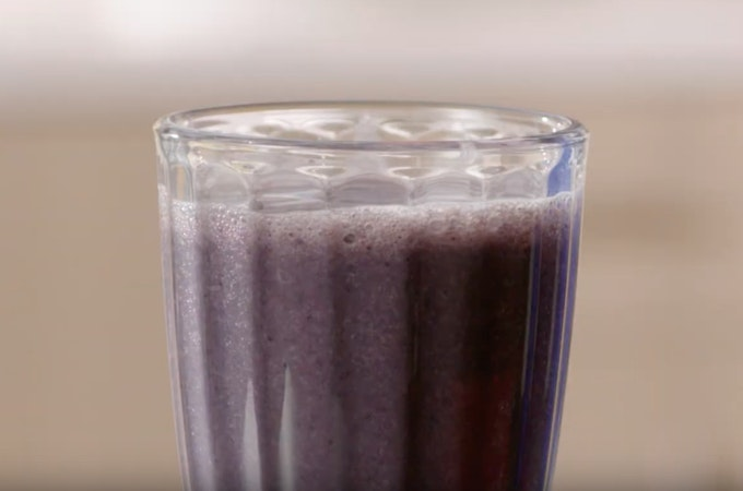 NutriBullet Blueberry Milkshake Recipe